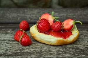 Erdbeer-Frühstück