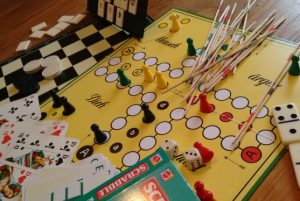 Spiel-Café für jung und alt